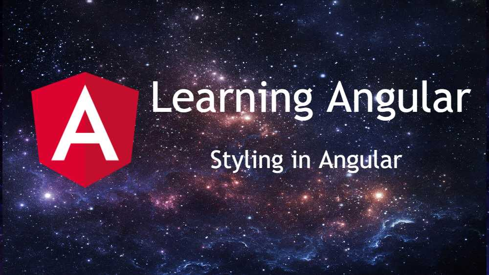 styling in angular